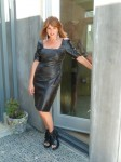 Black Leather Dress