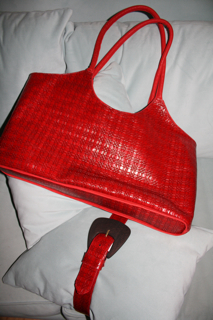 Leather Tote Bag and matching Belt