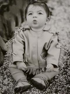 Baby Fringed Deerskin Jacket
