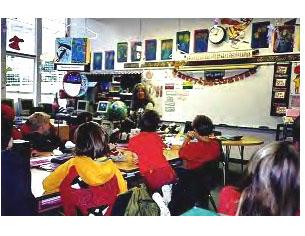 Jackie Robbins teaching