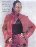 "Leather Waves ""Fashion Section"" Malibu Magazine Oct. 2002"