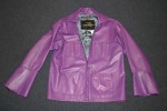 childs purple jacket