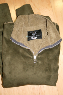 """No-Animal"" Shearling Slipover for Men"