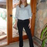 Women's Suede Jeans
