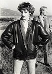 womens shearling lined leather jacket 1985