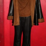 Women's Leather Coat Pants and Suede Tank
