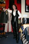 womens leather jumpsuit for H.H. 2004