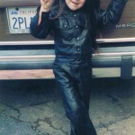 """Elvis"" leather jean jacket and jeans for children"