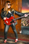 rock and roll leather suit