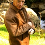 Leather Windbreaker for J.H.