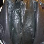 10 washed leather jacket