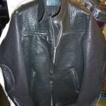 11 washed leather jacket
