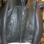 20 washed leather jacket