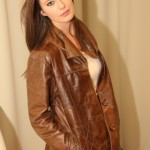 Women's Distressed Leather Jacket–Version 2–