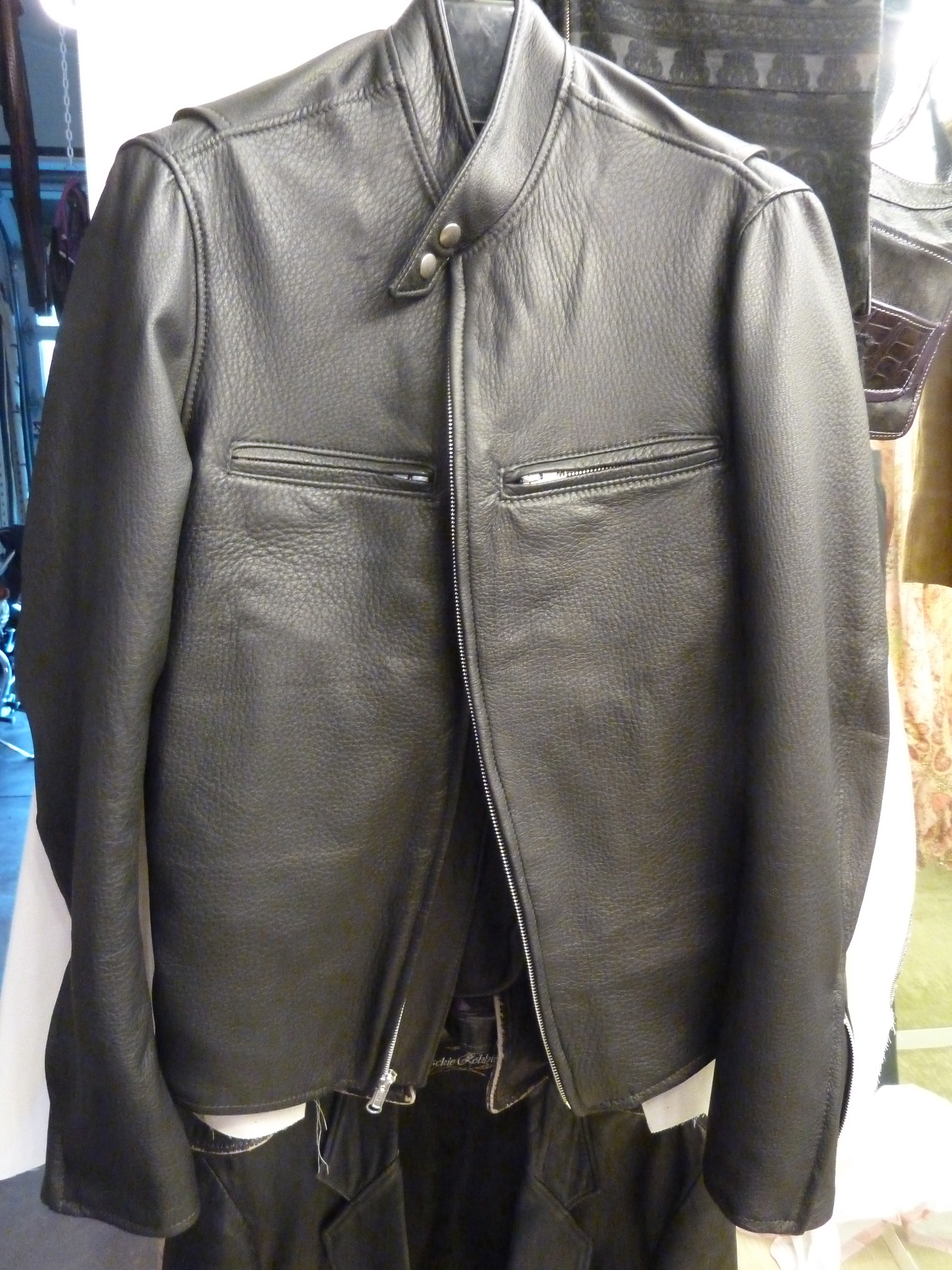 What Is Leather Made Of >> Custom-made-Cafe-Racer-Motorcycle-Jacket-fromJackie ...