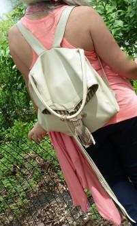 """No-Animal"" Backpack"