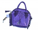 purple feedbag purse