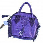 purple feedbag purse