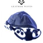 Leather and Fleece Skull Cap