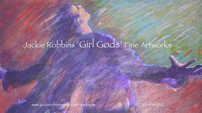 Jackie Robbins 'Girl Gods' Fine Artworks