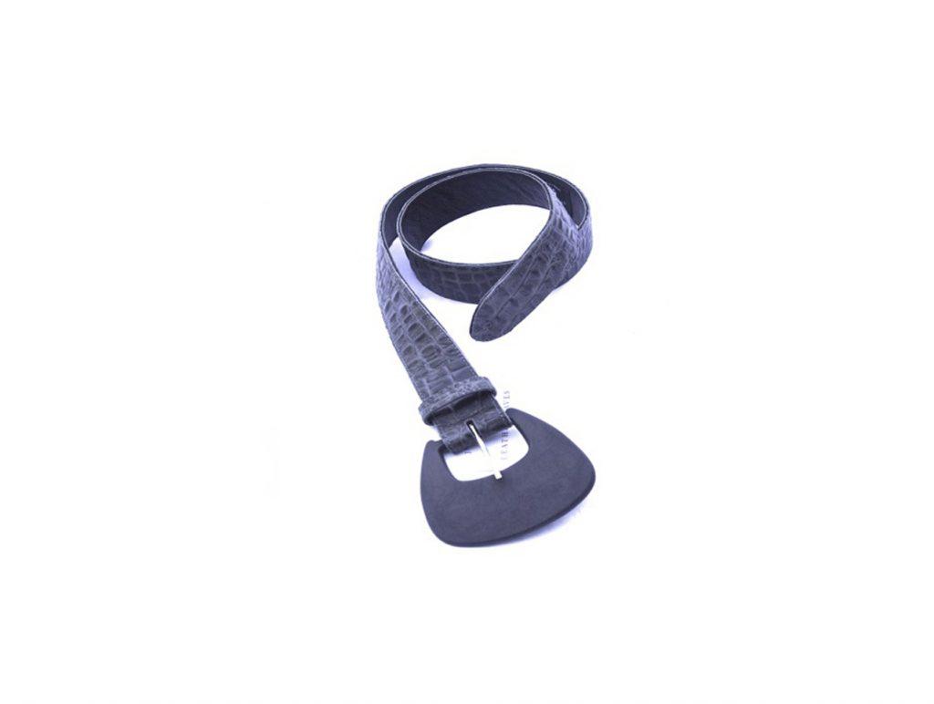 0 AD Paddle Buckle Leather Belt (slide)