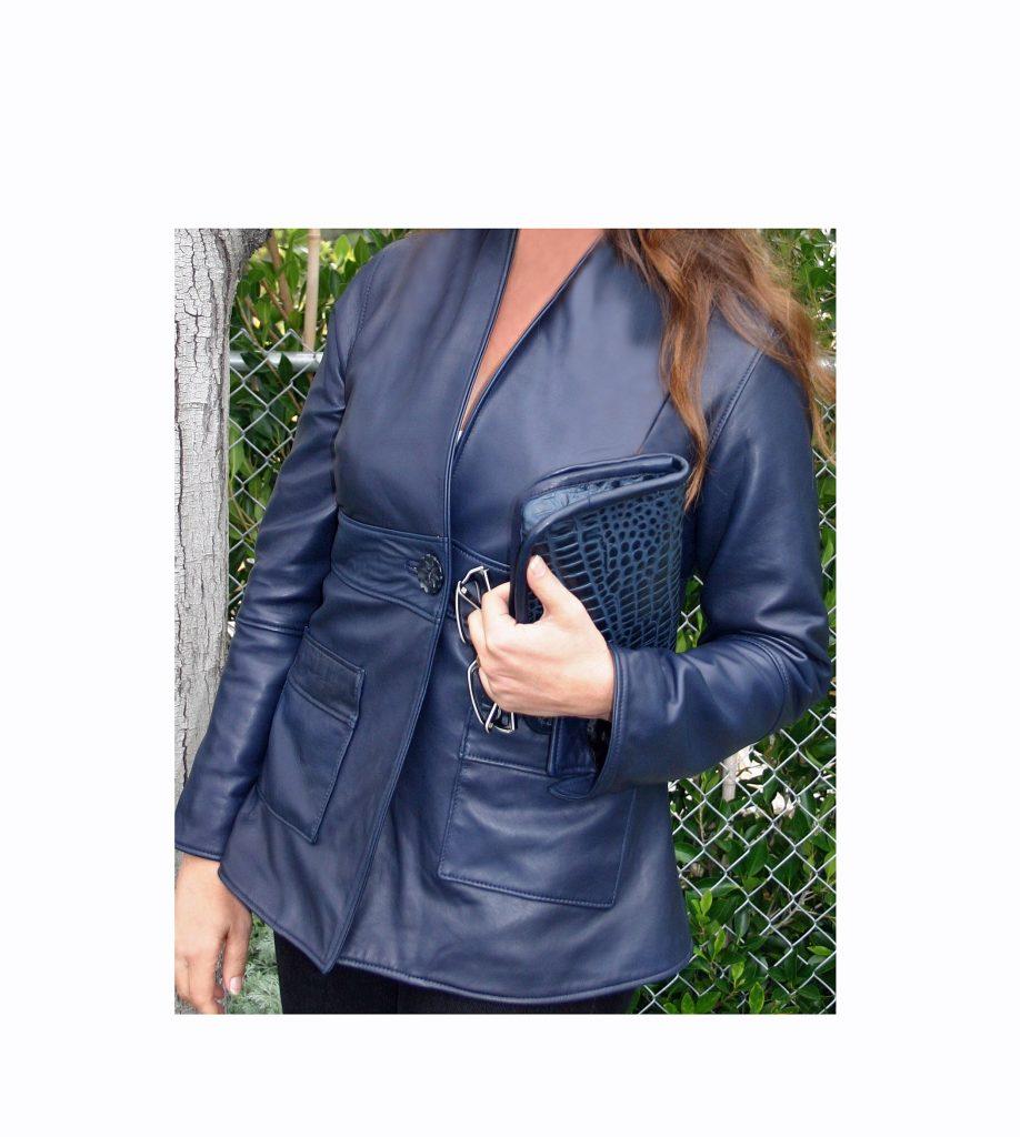 (#141) Lambskin Jacket & Pocketbook