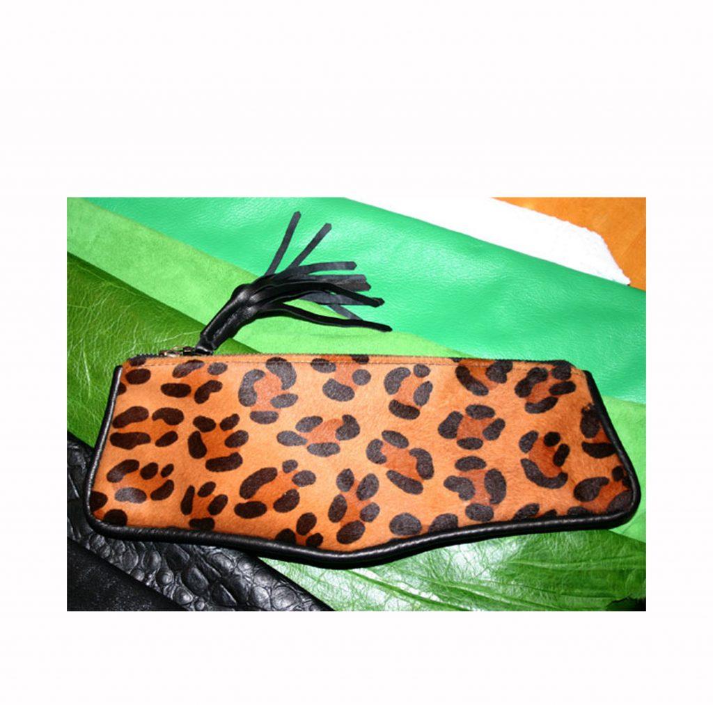 (#82) Leopard Fur Case