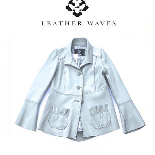 (#16) Silver Deerskin Jacket
