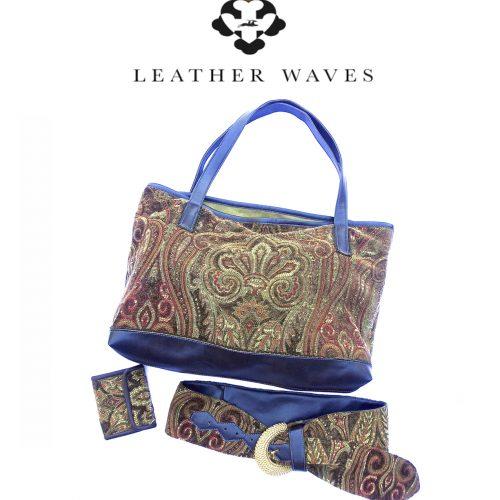 (#43) Tapestry Bag Belt Wallet