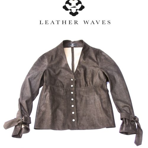 (#52) Stretch Leather Shirt/Jacket