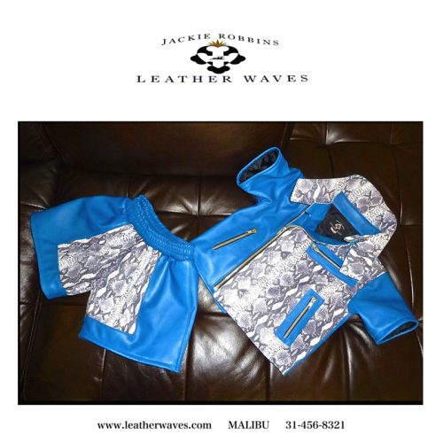 (#96) Baby Boxing Leathers