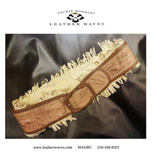 (#102) Textured Leather Belt