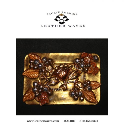 (#109) Vintage Jewelry Belt Buckle